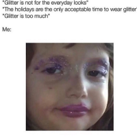 When beauty meme's actually relate to life.